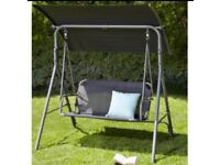 New garden seat swing & canopy