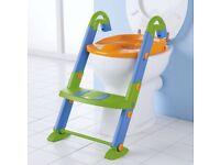 Toilet seat step. Potty training