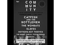 Community festival tickets