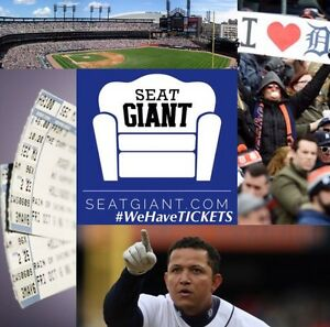 DETROIT TIGERS TICKETS FROM $5!!!