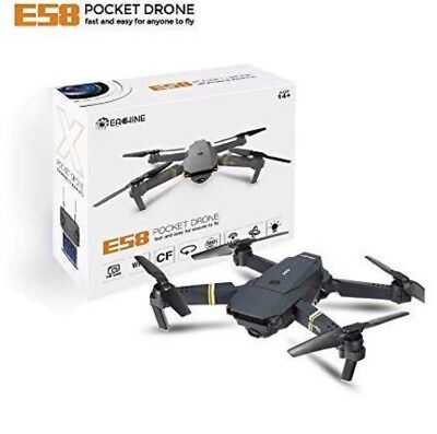EACHINE POCKET DRONE E58 WIFI FPV Quadcopter With 0.3MP Cam - UK SHIPPING 3 DAYS