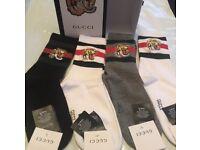 Beautiful Gucci Tiger Socks Brand New!!