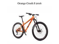 MOUNTIAN BIKE ORANGE CRUSH 2016
