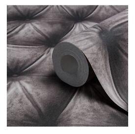 Padded effect wallpaper(2 rolls)