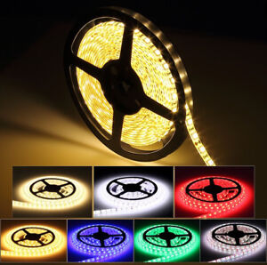 Waterproof RGB LED Light strips- Perfect for XMAS Decorating!