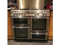Double Oven, Range style cooker, 5 Gas Burner