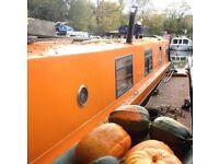 Narrowboat with Mooring 42 foot