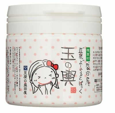 TOFU no MORITAYA TAMANOKOSHI Soy Yogurt Beauty Pack Face Mask 150g