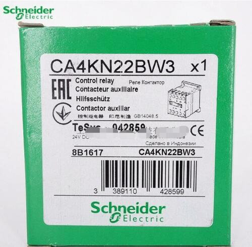 NEW  Schneider  CA4KN22BW3  DC24V  Contactors  free shipping