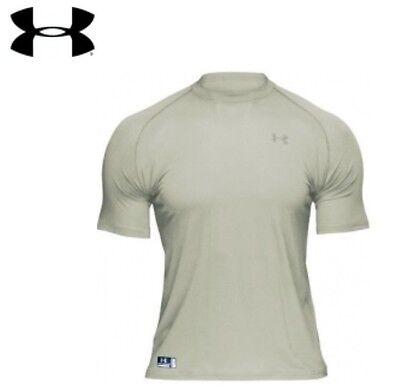 Men's HeatGear® Tactical Full T- Shirt  Desert Color Small NWT
