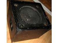 Bass guitar/PA Trace Elliot style speaker Cabinet Goodmans/ATC
