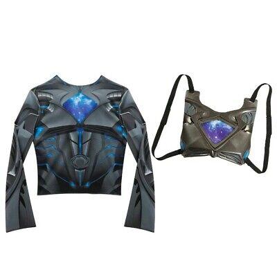 Power Rangers Deluxe Black Ranger Dress Up Set. New in - Power Rangers Kostüm Sets