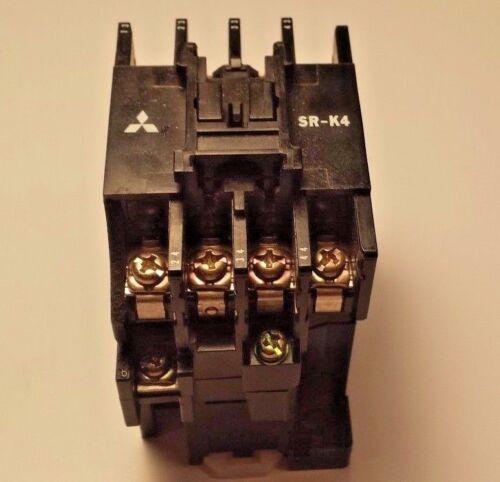 Mitsubishi Electric SR-K4, 4 Pole Contactor, Motor Starter, 100v. Coil
