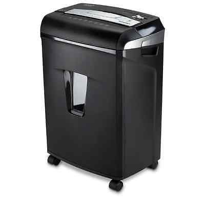 Jam Free 12-sheet Cross-cut Credit Card Staples Office Paper Shredder Machine