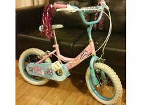 Girls Bicycle/Bike/Cycle 14in B25