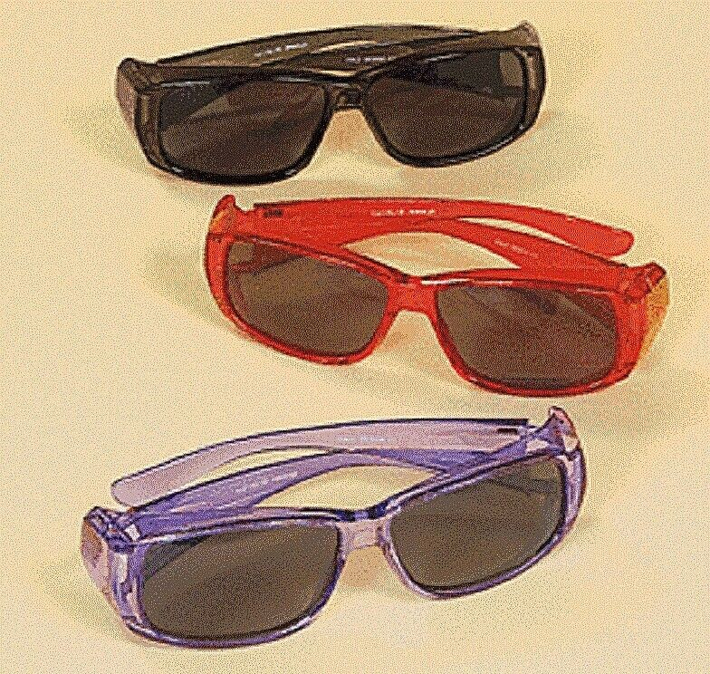 Fit Over Sunglasses Polarized Lenses Stylish Frames Shatter-Resistant Acrylic Clothing, Shoes & Accessories