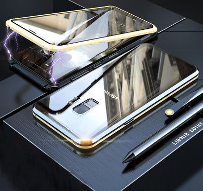 360 Full Body Front Back Glass Magnetic Case Cover Fr Samsung Galaxy Note 9 S10