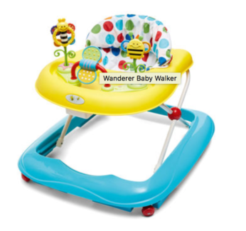 selling baby walker in near-new condition
