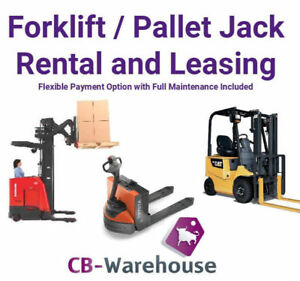Forklift and Electric Pallet Jack Rental and Leasing