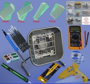 Solder Tools Kits Set Iron Stand Desoldering Pump 159000