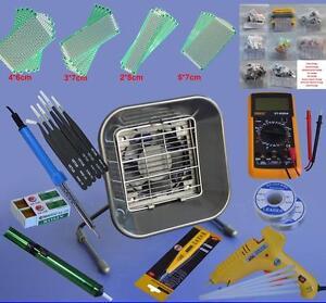 Solder Tools Kits Set Iron Stand Desoldering Pump 159000