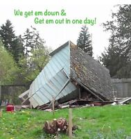 Small scale Demolition & Junk removal! HRM and surrounding areas
