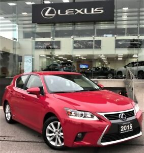 2015 Lexus CT 200h Base Heated Seats Bluetooth Power Windows