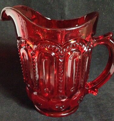 32oz Moon & Stars RUBY RED Pitcher LG Wright Tea Water