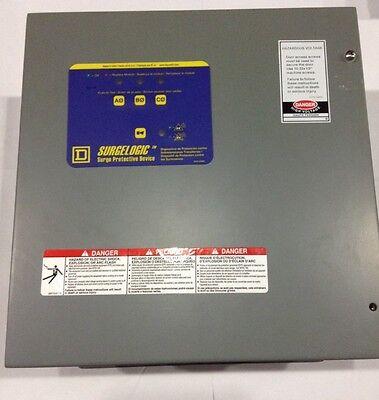 Tvs2eba12a Square D Transient Voltage Surge Suppressor 208120v New In Box