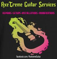 Professional Guitar Repairs - Low Rates!