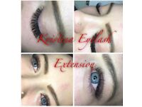 Individual and Russian volume lash extension