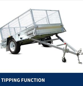 New 7 x 5 Gal box trailer with cage plus jockey wheel - Darwin Darwin CBD Darwin City Preview