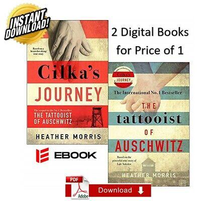 2 Books (Cilka's Journey + The Tattooist of Auschwitz) 🔥 P.DF, M.OBI, E.PUB 🔥