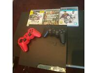 Slim PlayStation 3 320GB with games