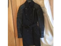 Green Burberry trench coat authentic