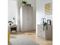 Panama 3pc bedroom set grey