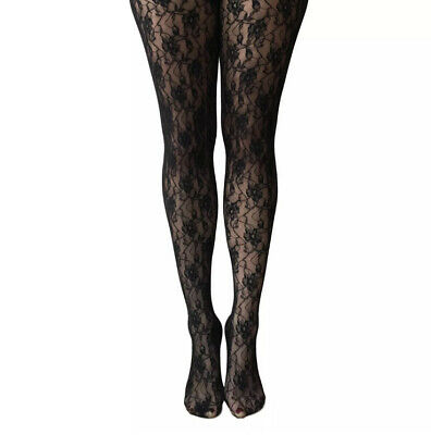 Jonathan Aston Floral Lace Tights