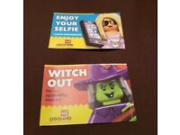 4x Legoland tickets for Monday 1st October (weekday = Empty Park)