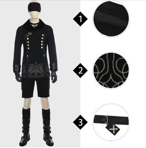 High Quality NieR Automata Cosplay Costume for Men