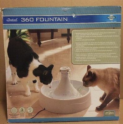Drinkwell 360 Pet Fountain 128oz OPEN BOX