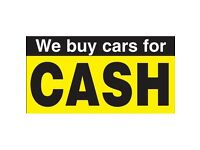 WE BUY ANY CAR VAN OR MOTORBIKE FOR CASH - RUNNING OR SCRAP CALL 07595976330