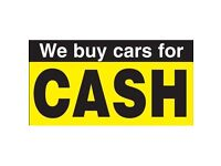 WE BUY ANY CAR OR VAN - RUNNING OR SCRAP FOR CASH!!! 07595976330