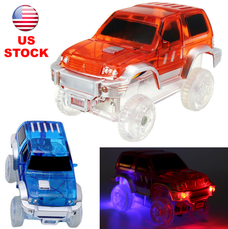 Race Car for Magic Track Racetrack LED Glow In The Dark Kids