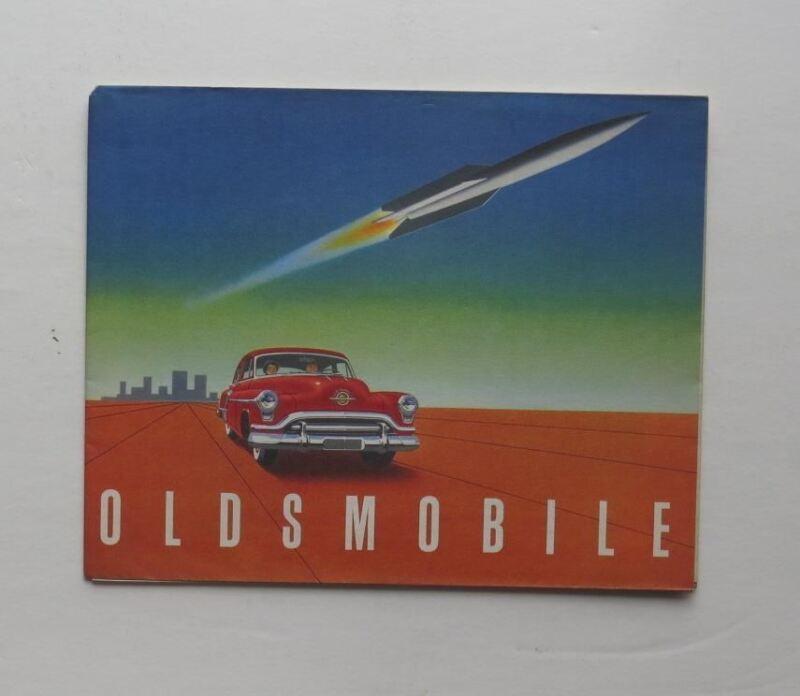 1951 Oldsmobile Brochure Super 88 98