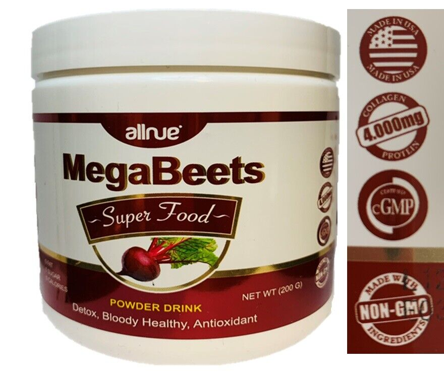 Super mega Beets Circulation Superfood  Ships FREE SAME DAY HumanN organic  1