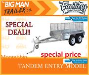 10x6 tandem trailer GVM2000KG Hot dip galvanised Clayton Monash Area Preview