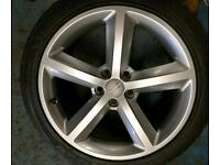 "18"" genuine Audi A4 s line alloys"