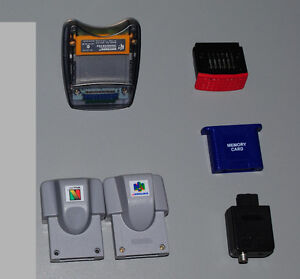 Nintendo 64 Accessories, Expansion, Memory, Rumble, Transfer Pak Cambridge Kitchener Area image 1