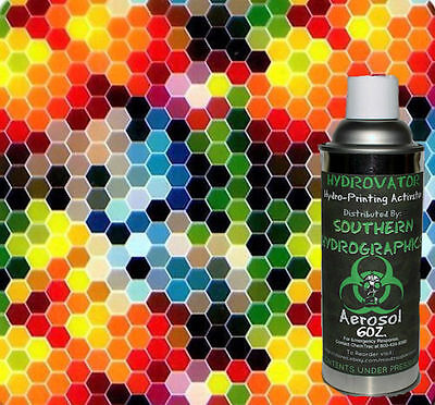 Hydrographic Film Water Transfer Hydro Dip 6oz. Activator Dip N Dots Kit