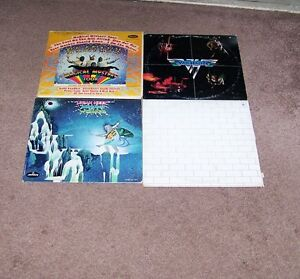 68 ROCK RECORDS FOR SALE NEW PRICE